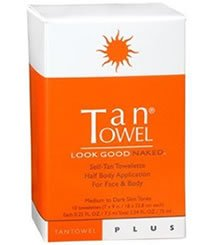 Tantowel Self Tan Towelettes