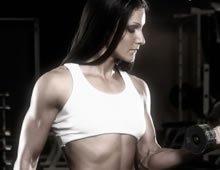 Fitness Model Sunless Tanner