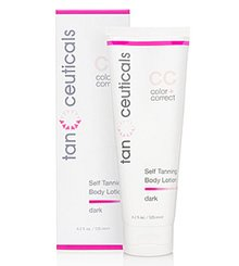 Tanceuticals Cc Self Tanning Body Lotion, Dark