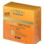 Loreal Sublime Bronze Self Tanning Towelettes Review