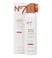 Boots No 7 Perfectly Bronzed Self Tan Review