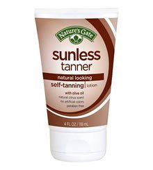 Natures Gate Sunless Tanner Review