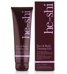 He-Shi Face and Body Tanning Gel Review