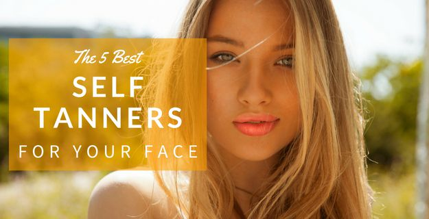 self tanners for your face