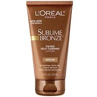 L'Oreal Sublime Bronze Tinted Self Tanning Lotion Review